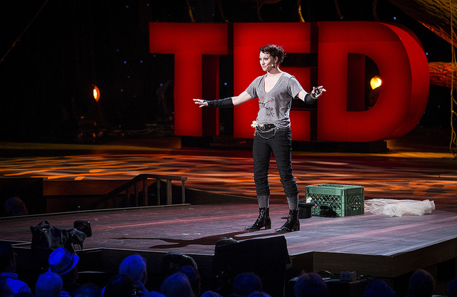 Amanda Palmer talks at TED